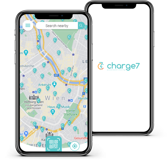 Screenshot der charge7 App