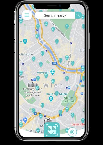Ein Screenshot von der charge7 App