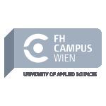 Das Logo vom FH-Campus Wien